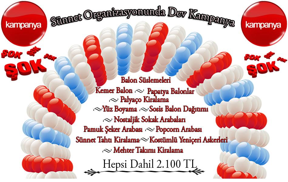 balon süsleme kampanyası