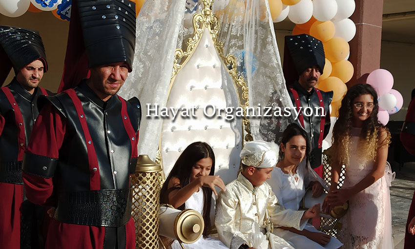 sünnet düğünü taht yeniçeri askerleri