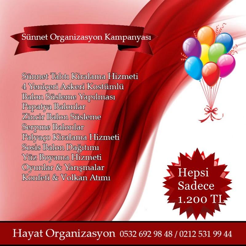 sünnet organizasyon kampanyası